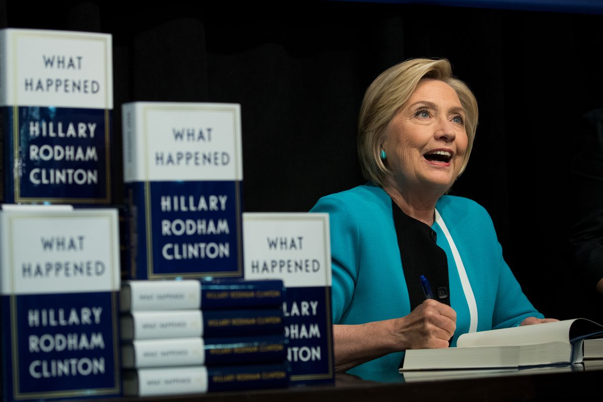Hillary Clinton Has Devoted An Entire Chapter To Her Comment About Coal Communities In New Book What Happened Photo By Drew Angerer Getty Images