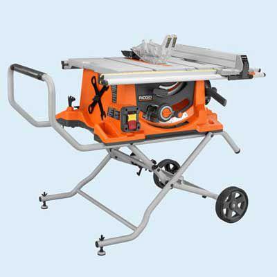 Ridgid R4510 Portable Table Saw