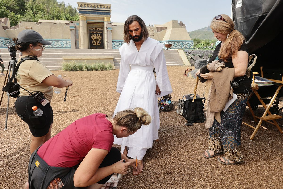The Church of Jesus Christ of Latter-day Saints' production of the fourth season of Book of Mormon videos is being filmed.