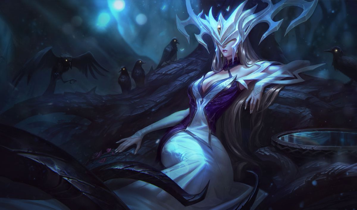 Lissandra and Camille's Coven skins are bringing a little ... Horns Growing Out Of Head