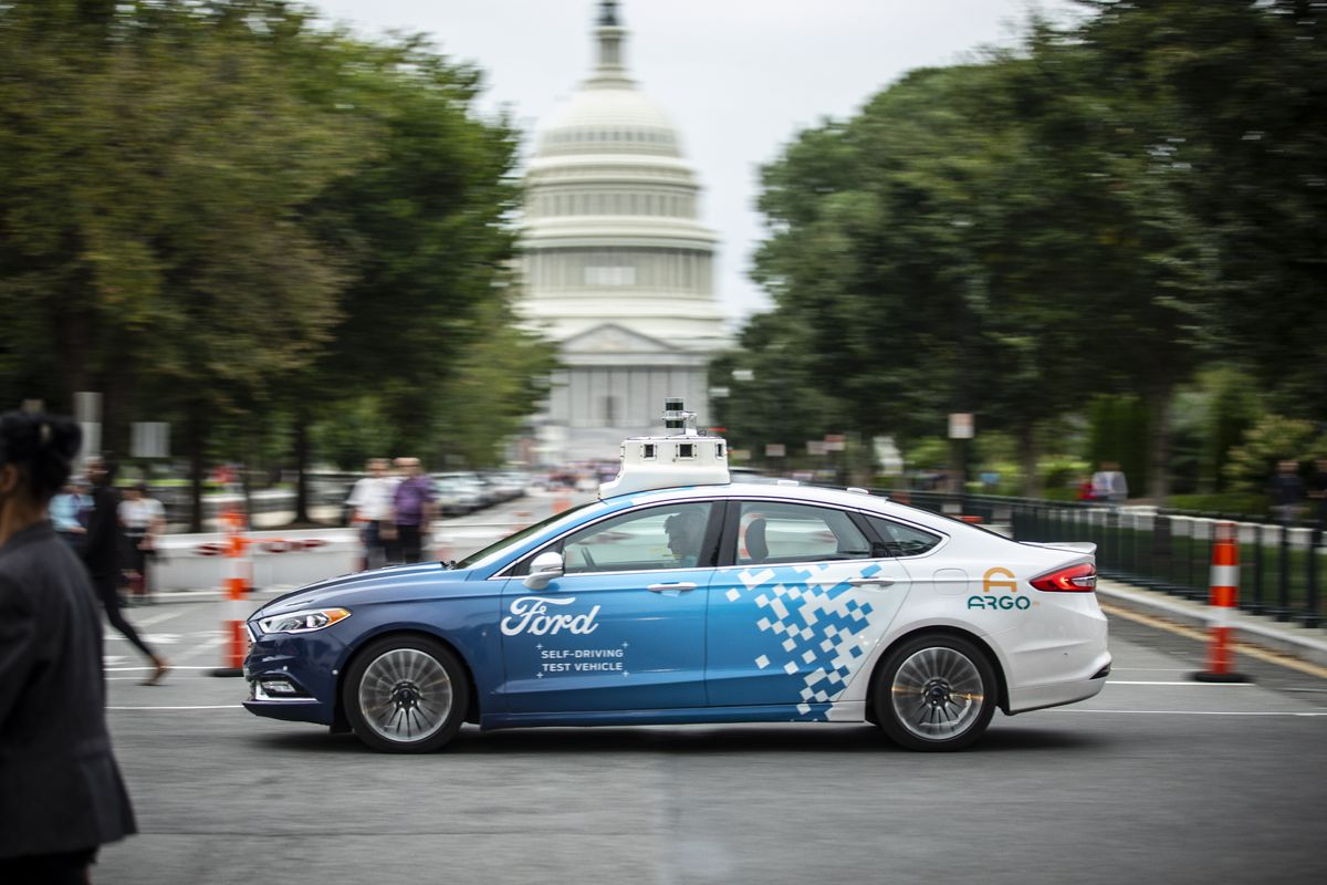 Ford Will Test Self Driving Cars In Washington Dc With An Emphasis