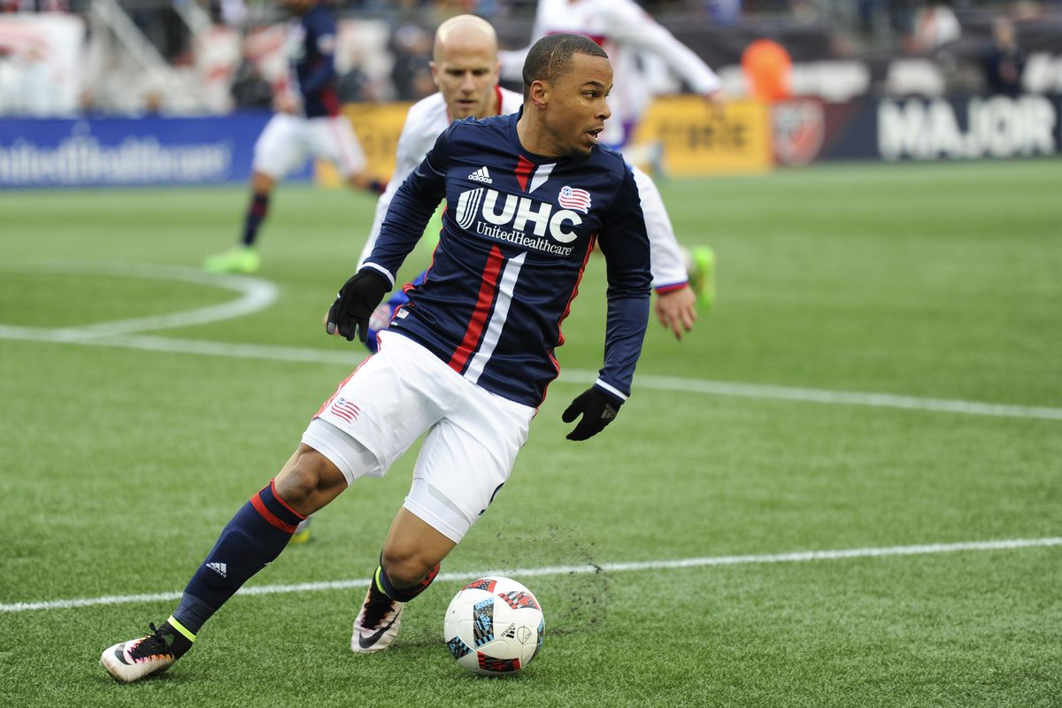 Charlie Davies returns to New England a week after being traded to the Union.