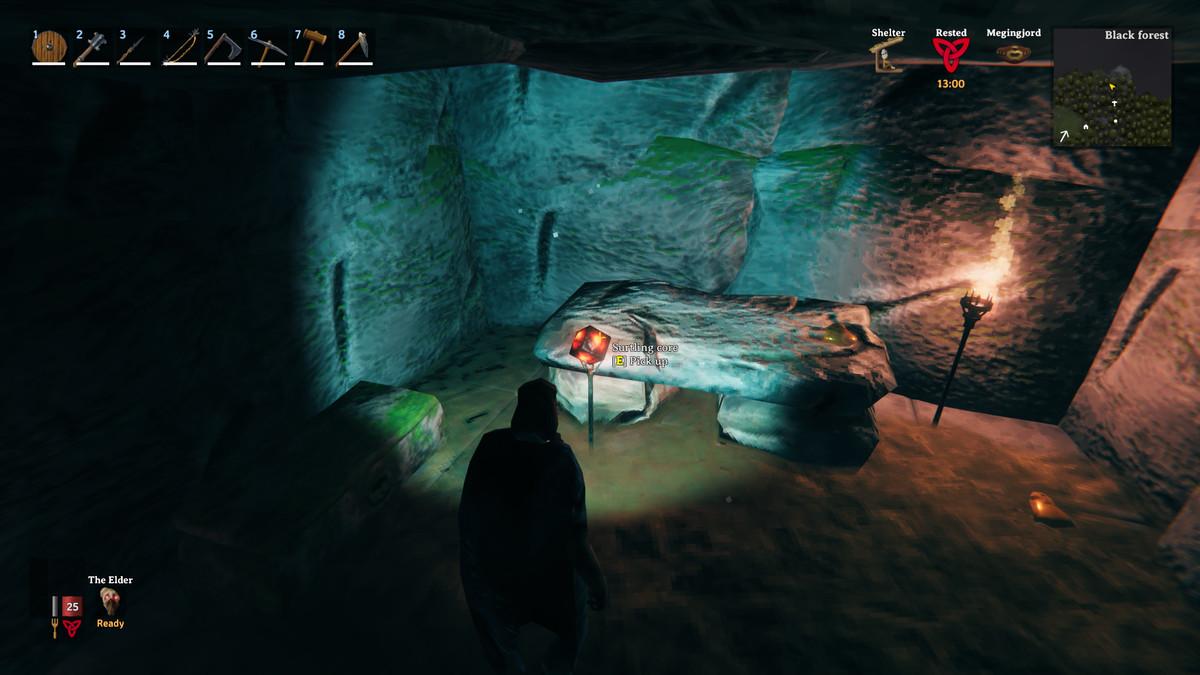 Valheim surtling core burial chamber