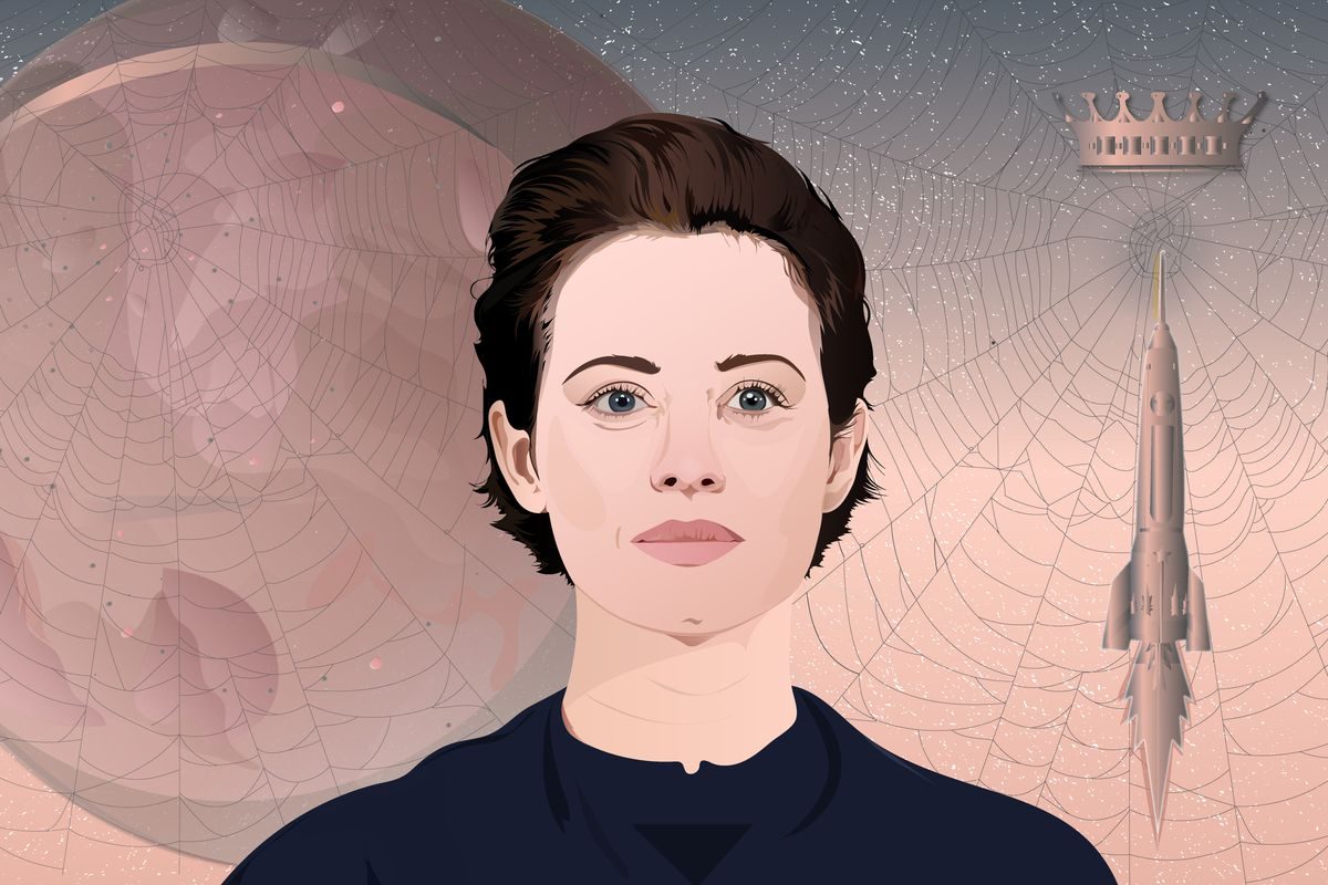 Illustration of Claire Foy