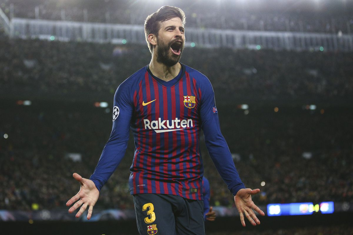 Gerard Pique - FC Barcelona - UEFA Champions League