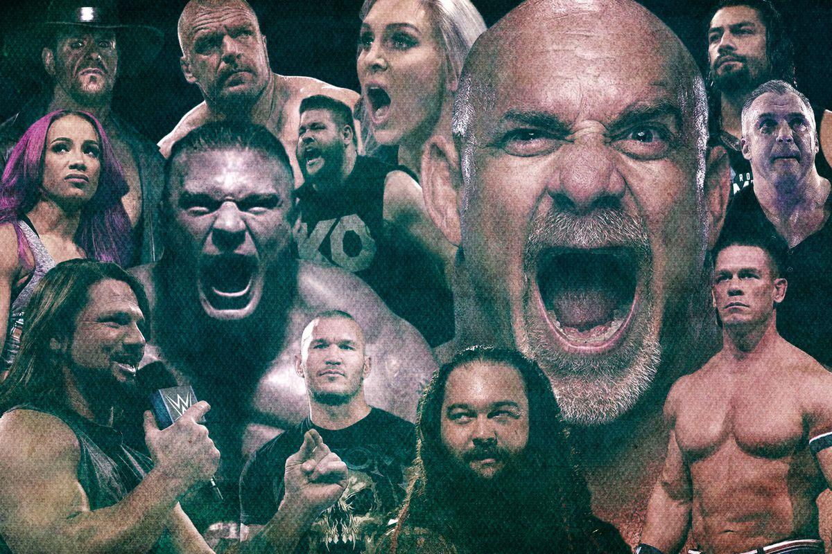 (WWE/Ringer illustration)