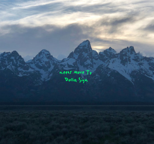 """""""needs more Ty Dolla Sign"""" written over Kanye West's 'Ye"""" album cover"""