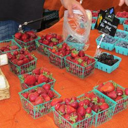 Berries from the California Family Farms.