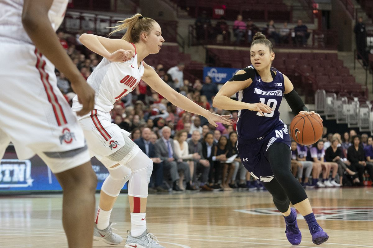 COLLEGE BASKETBALL: FEB 25 Women's Northwestern at Ohio State