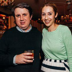 Eater NY's Greg Morabito and Rebecca Carlisle of USHG