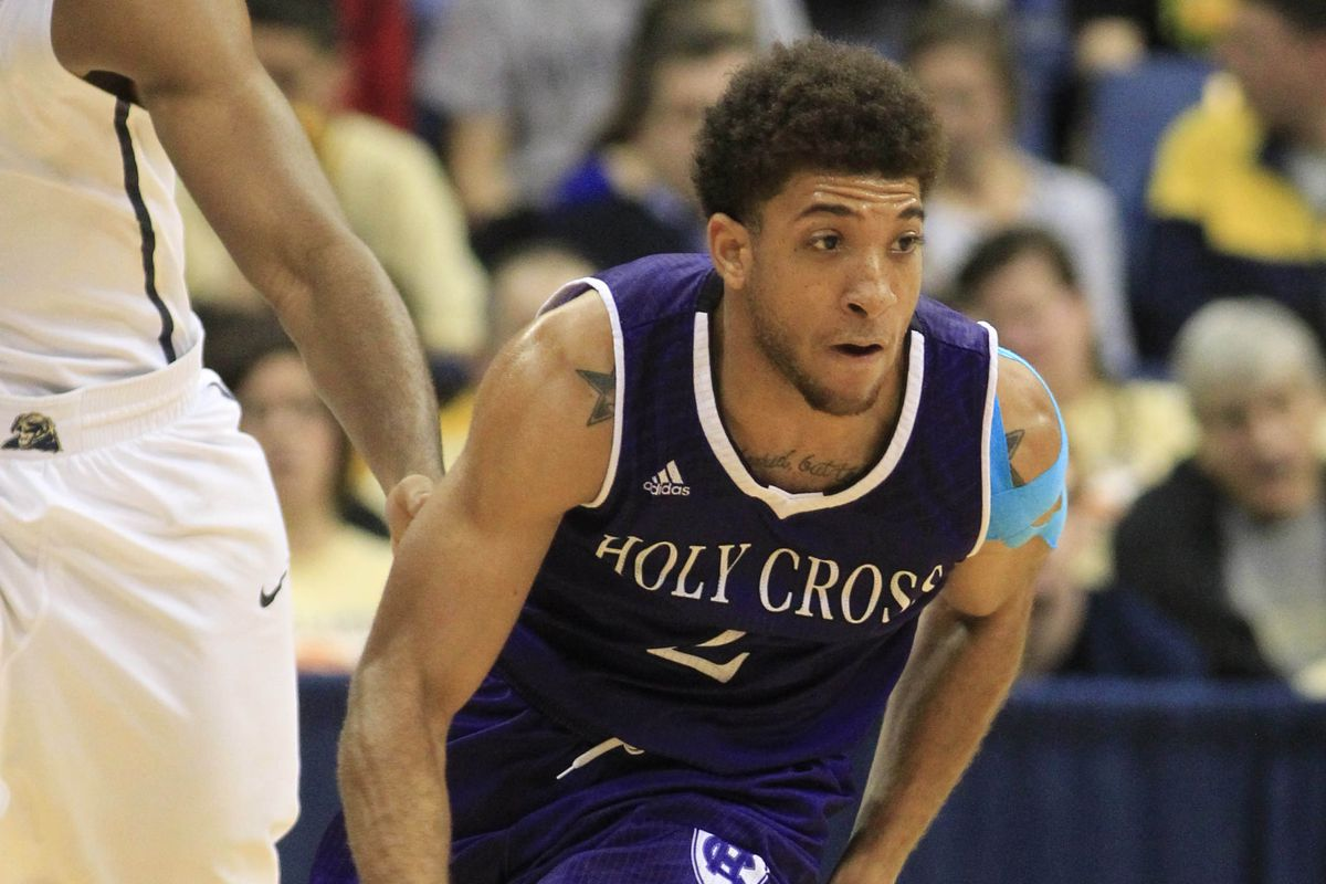 Anthony Thompson and Holy Cross are inexplicably 40 minutes away from the NCAA touranment.