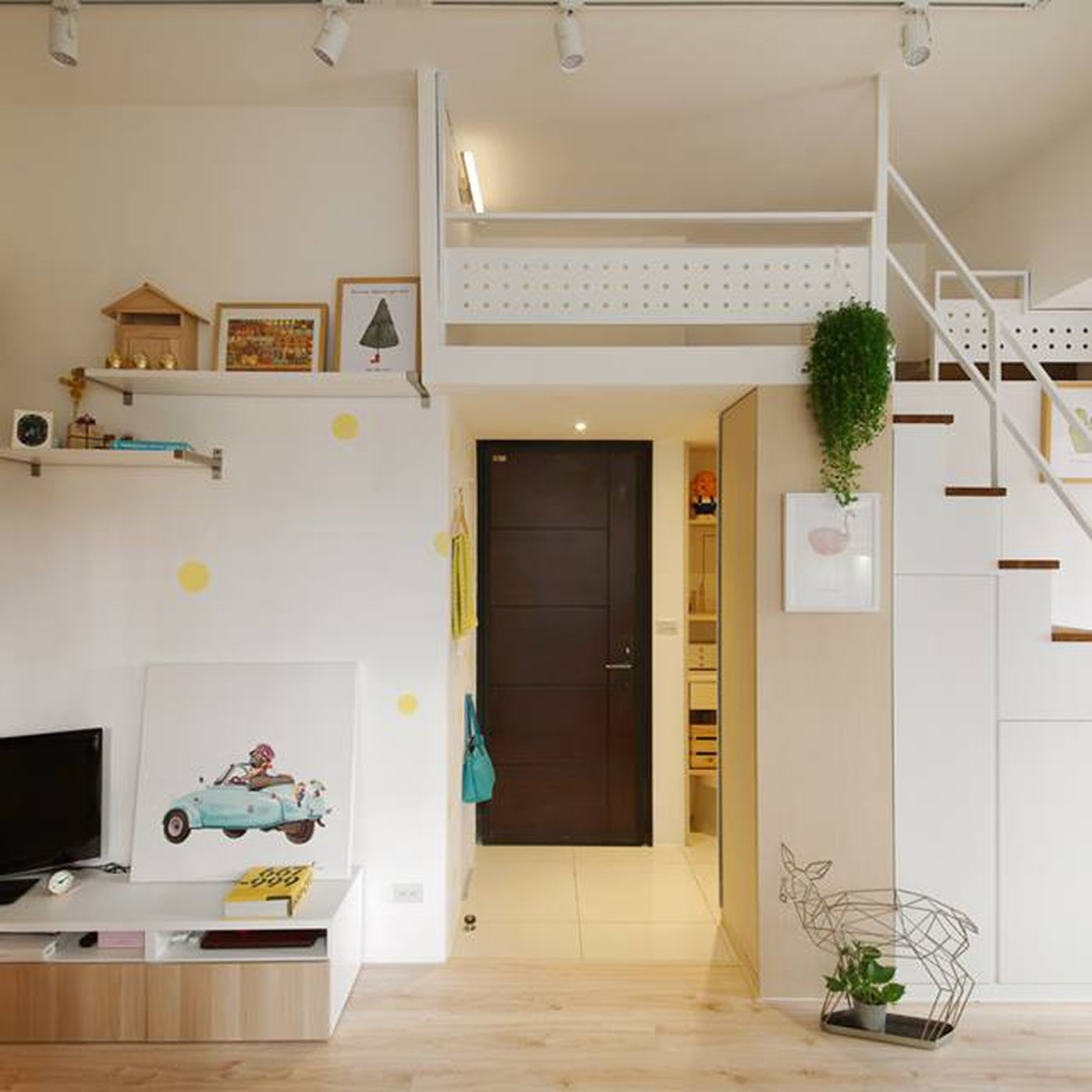 Compact Apartment Gets Efficient Airy Makeover In Taiwan