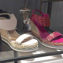 Wedge sandals, $168 (were $560)