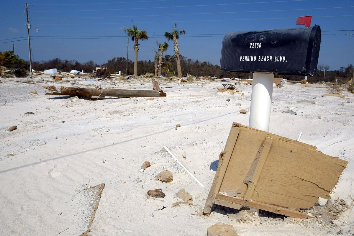 Gulf Coast Continues Clean Up After Hurricane Ivan