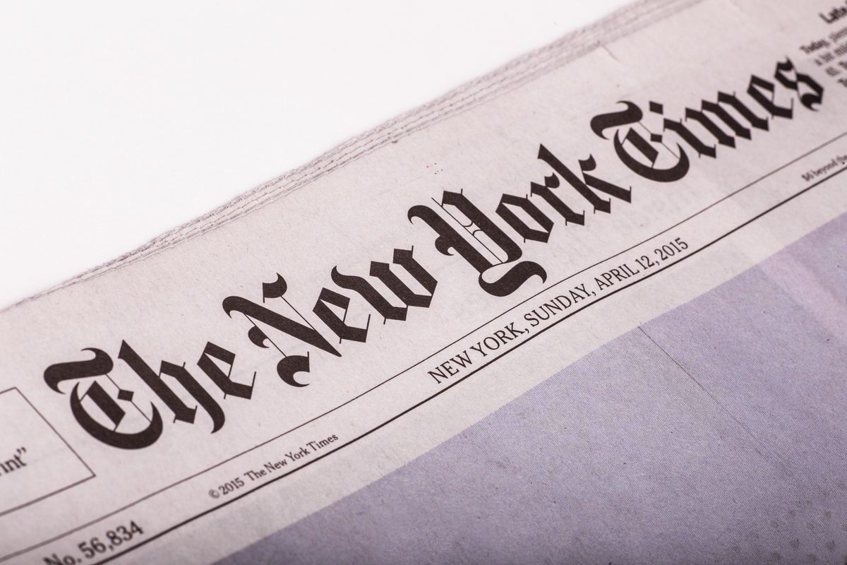 The real problem with the New York Times op-ed page: it's not ...