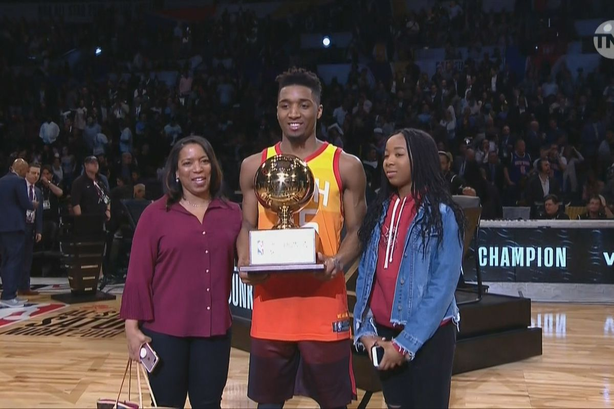 NBA Slam Dunk Contest 2018 recap  Donovan Mitchell tops Larry Nance ... 8faedd9a4f