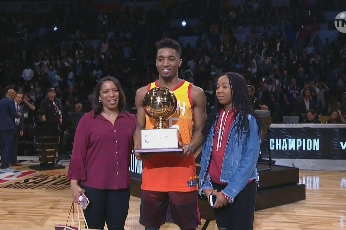 NBA Slam Dunk Contest 2018 recap  Donovan Mitchell tops Larry Nance ... cb83f4cdc2