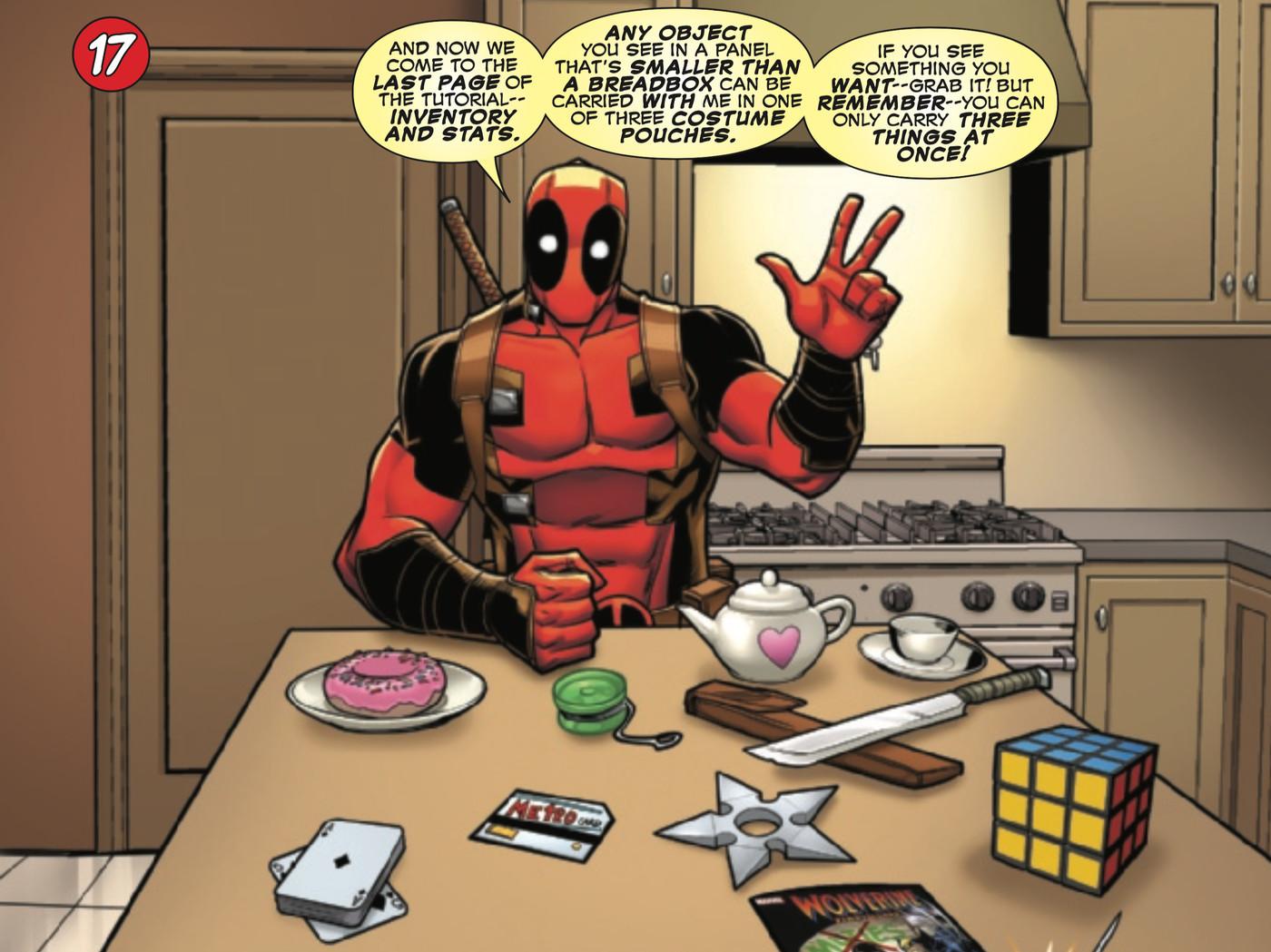 Marvel Deadpool comic 8 Marvel superheroes