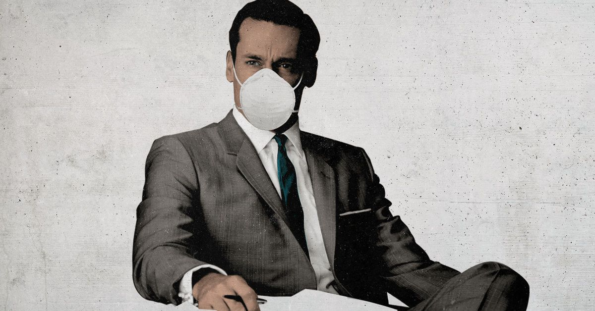 How 'Mad Men' Became The Perfect Show For The Pandemic