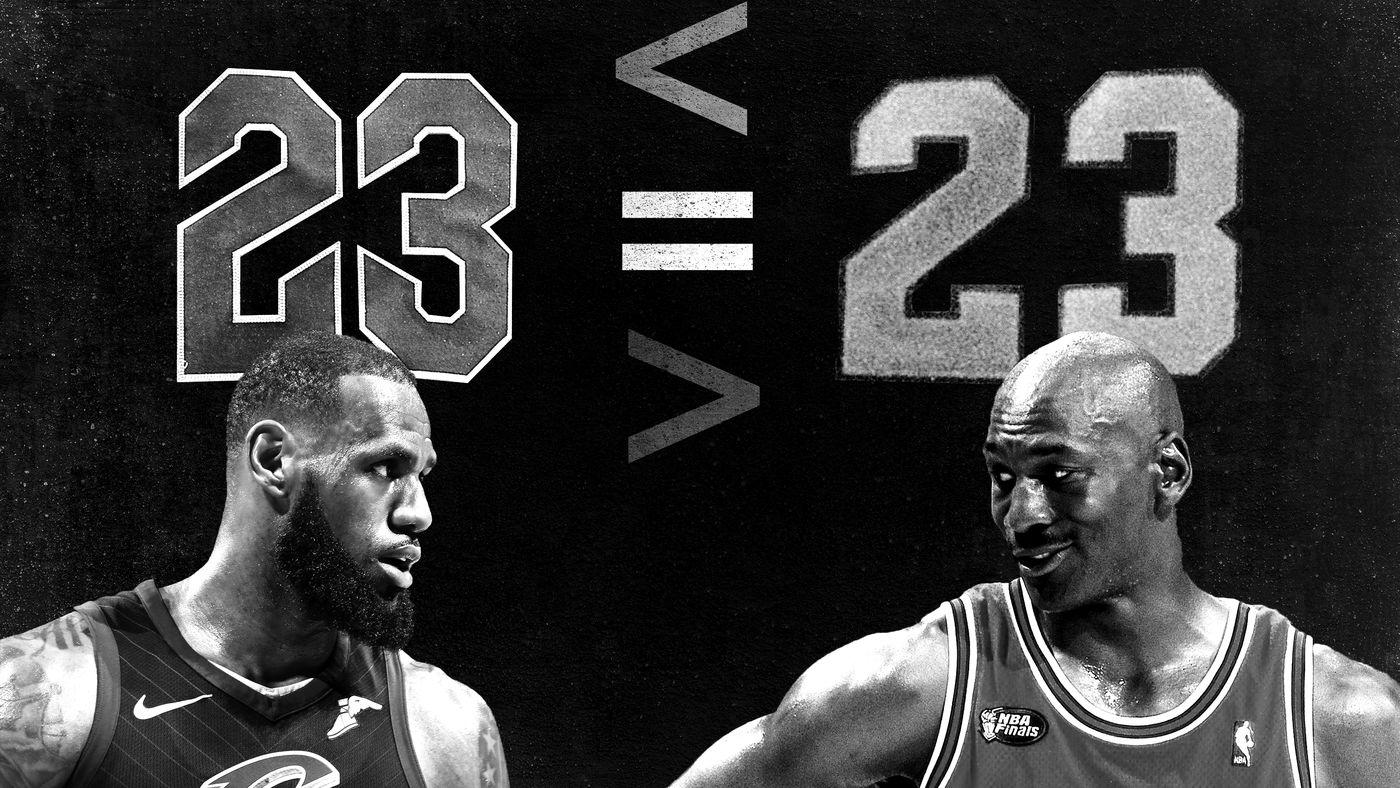 8e2deb747c3 How LeBron Can Build a Case Against Michael Jordan in the GOAT Debate - The  Ringer