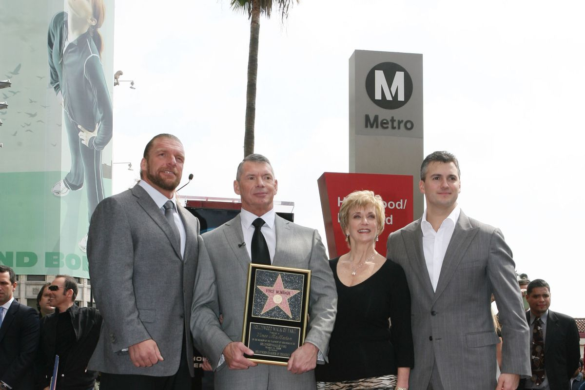 Vince McMahon Honored with a Star on the Hollywood Walk of Fame