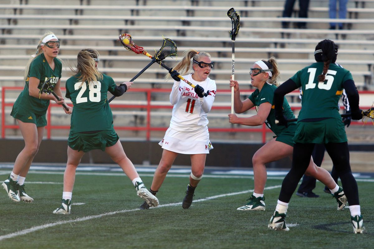 Maryland women's lacrosse Caroline Steele vs. George Mason
