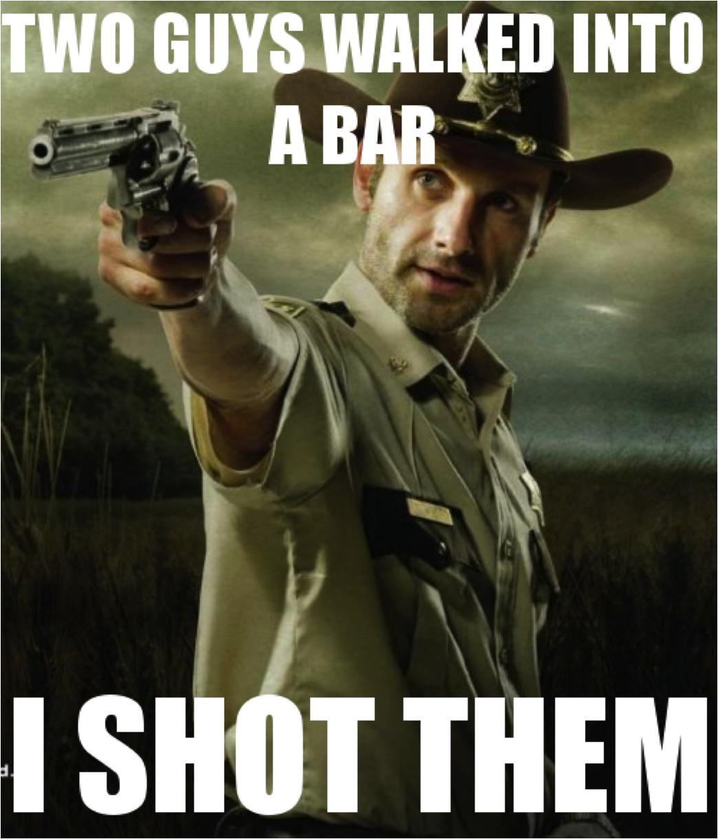 Memes Of Walking Dead