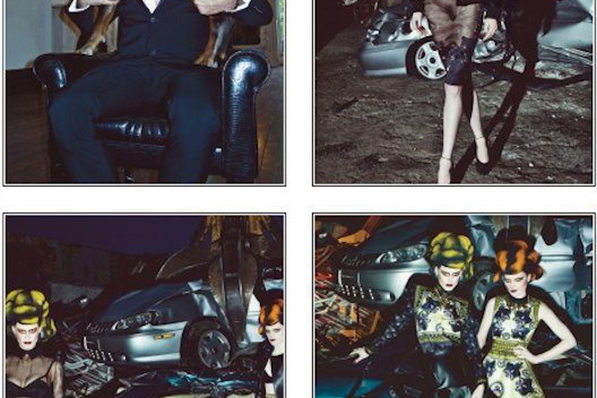 "Photo via <a href=""http://www.interviewmagazine.com/fashion/riccardo-tisci/"">Interview magazine</a>"