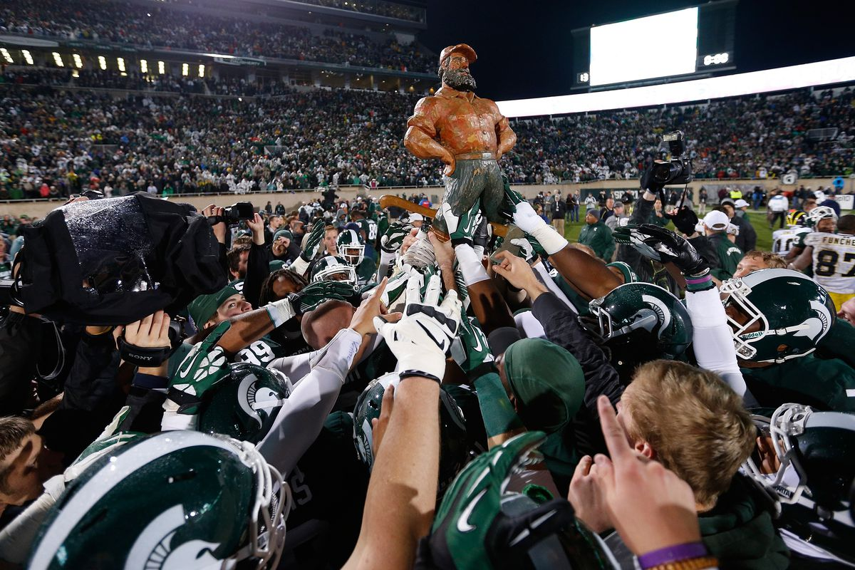 The B1G is the best conference for rivalry trophies.