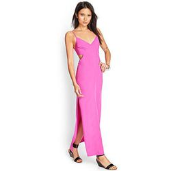 """<b>Forever 21</b> Cutout Maxi Dress, <a href=""""http://www.forever21.com/Product/Product.aspx?BR=f21&Category=dress_maxi&ProductID=2000123501&VariantID="""">$22.80</a>"""
