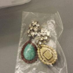 Earrings, $200