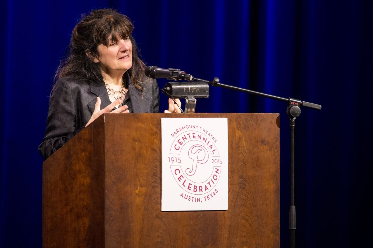 Ruth Reichl at the Paramount Theatre