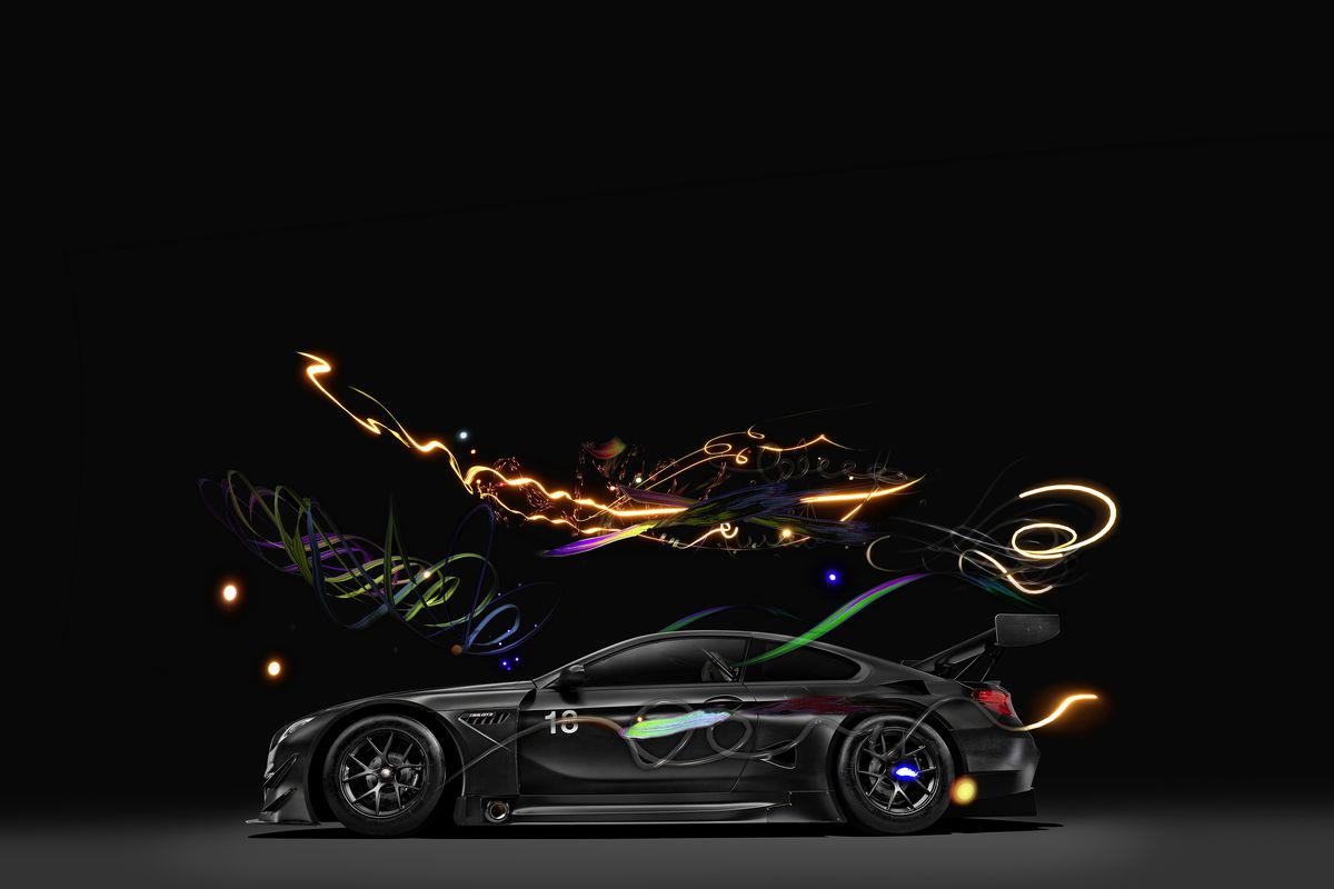 BMW's 18th Art Car Embraces the Digital World
