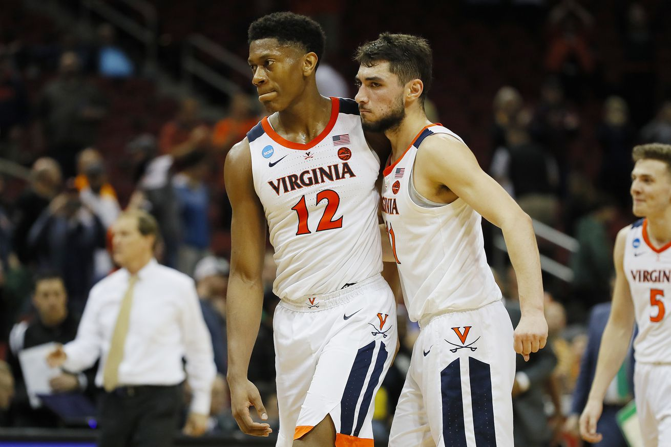 Both De'Andre Hunter and Ty Jerome have declared for the NBA Draft