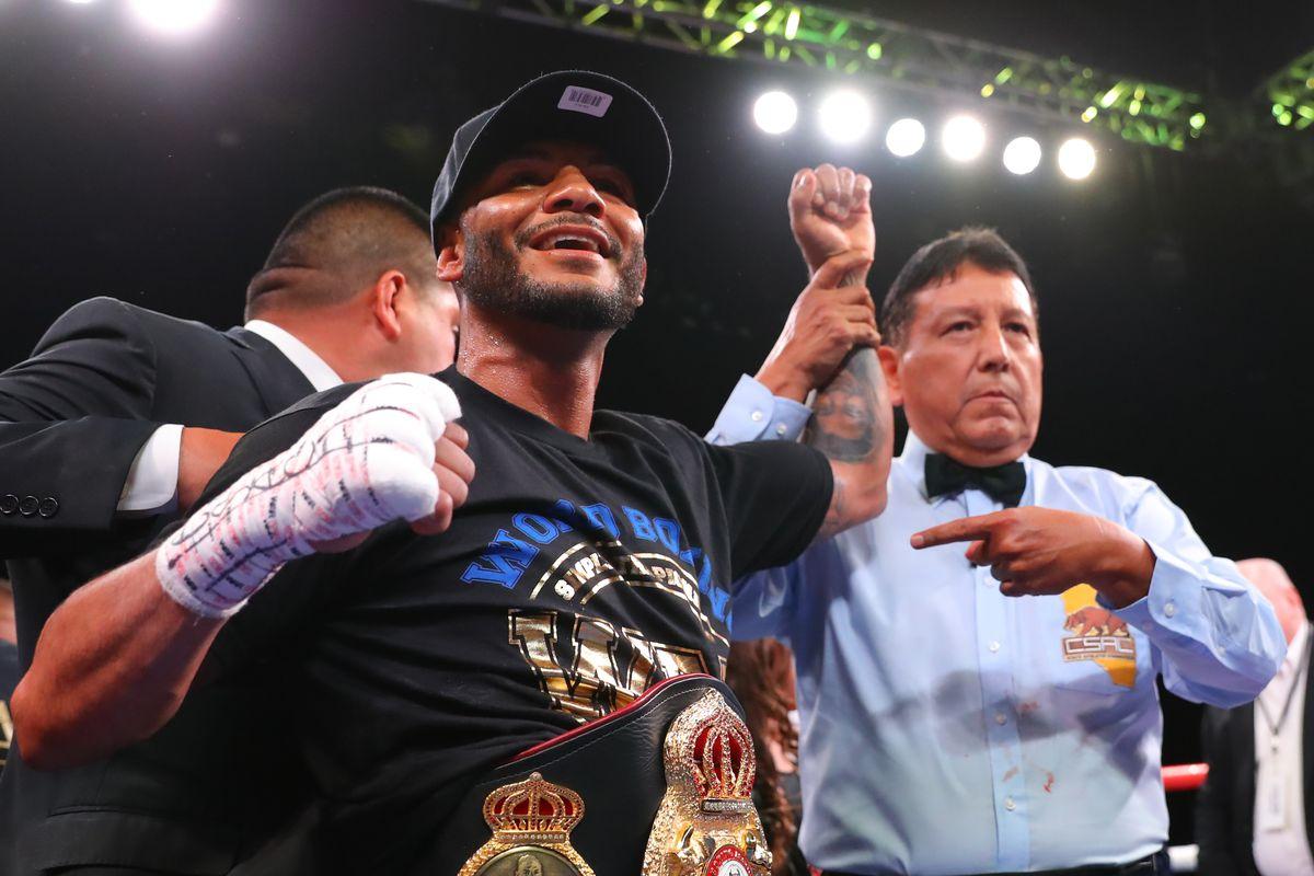WBA Super Featherweight World Championship - Cancio v Machado II