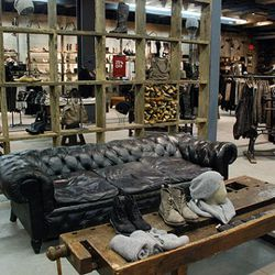 Where do they find leather couches this perfectly slouchy?