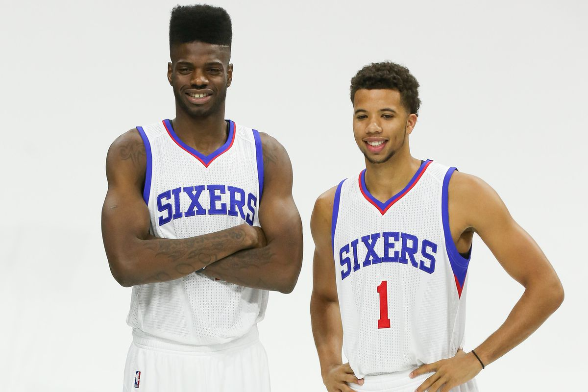 Nerlens Noel and Michael Carter-Williams: Two of the cornerstones of the Sixers' foundation.