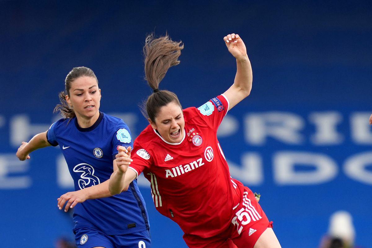 Chelsea v Bayern Munich - UEFA Women's Champions League - Semi Final - Second Leg - Kingsmeadow