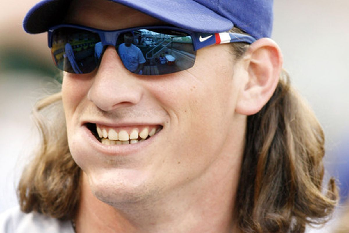 Pittsburgh, PA, USA; Chicago Cubs starting pitcher Jeff Samardzija in the dugout against the Pittsburgh Pirates at PNC Park. Credit: Charles LeClaire-US PRESSWIRE