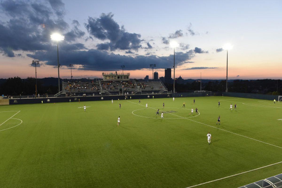 Pitt soccer field