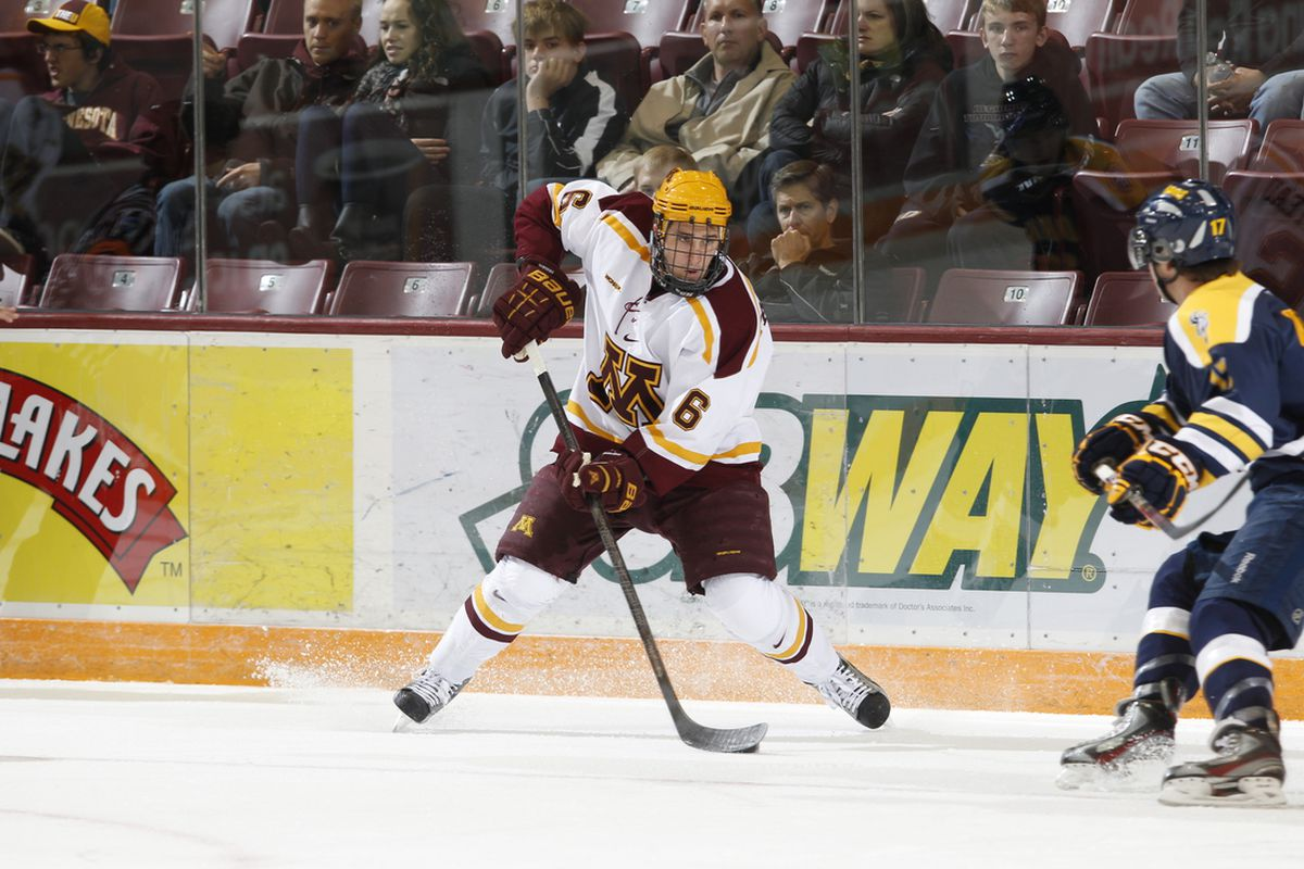 Jake Parenteau is expected to undergo surgery Monday after suffering a broken leg against Michigan State