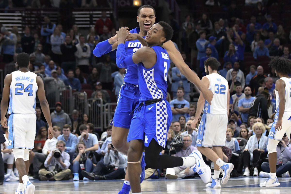 NCAA Basketball: Kentucky at North Carolina