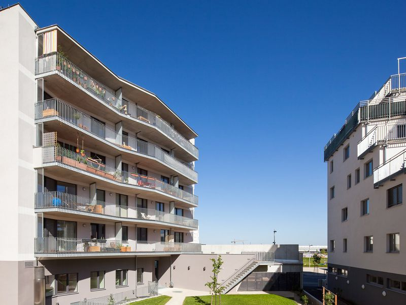 Baugruppe In Vienna Photo By Marcus Kaiser For POS Architecture