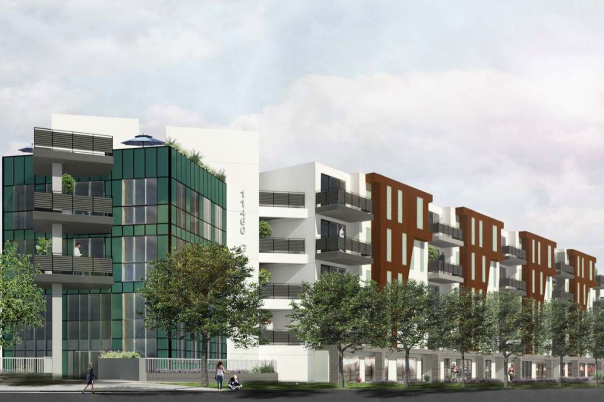 Rendering of the project