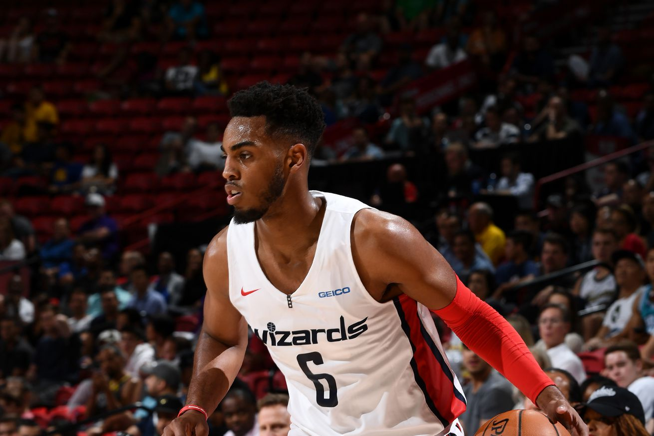 Wizards win first summer league game, 84-79
