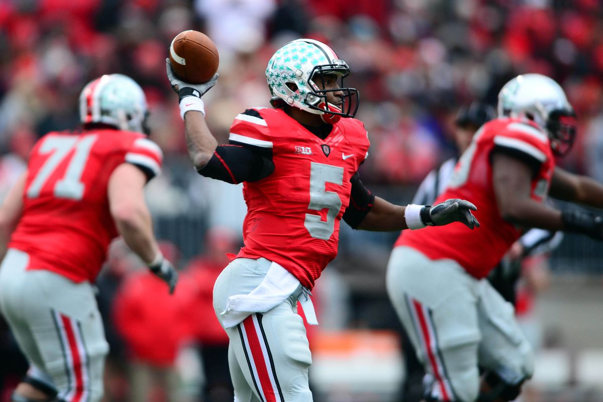 73ff54bf5bed Report  Ohio State to wear 2012 Michigan uniforms against Wisconsin ...