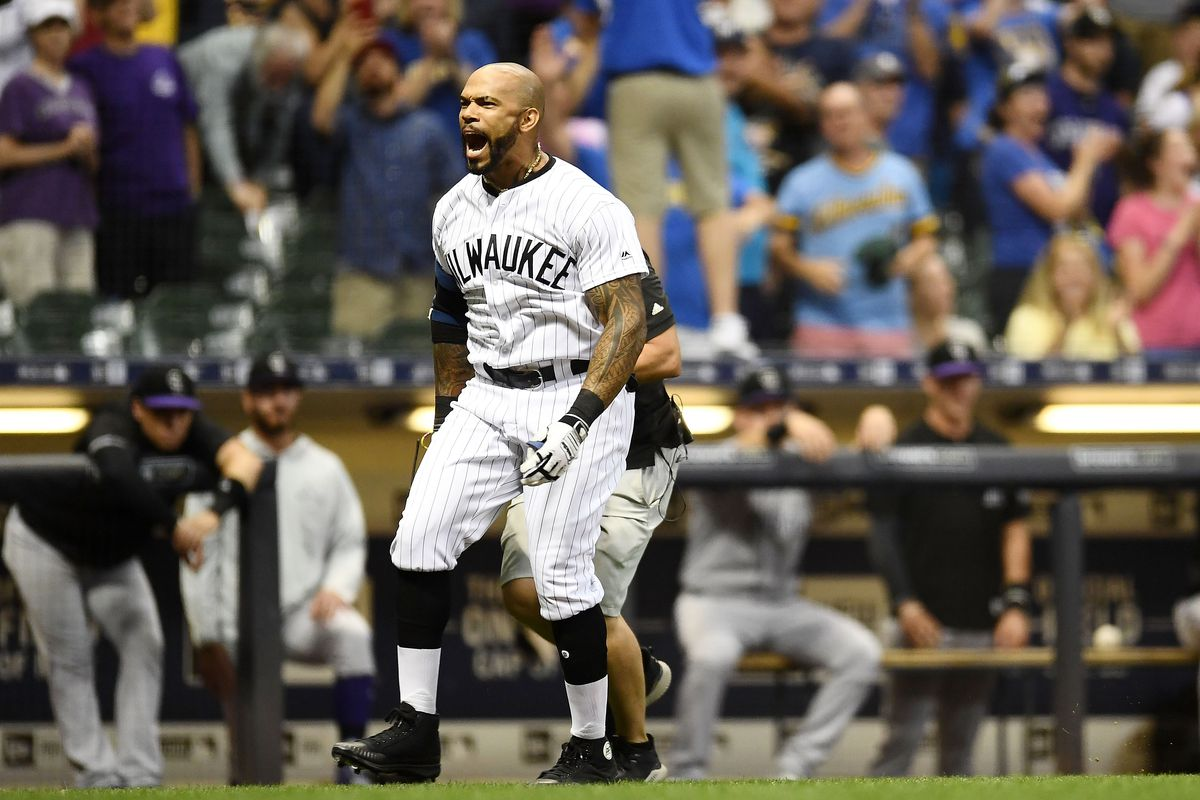 uk availability 126c2 4b55a Determining the fit for Eric Thames on the Milwaukee Brewers ...