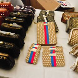 Clutches, and iPhone and Kindle cases