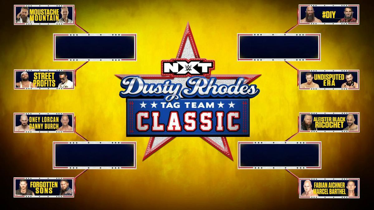 Image result for dusty rhodes classic 2019 brackets