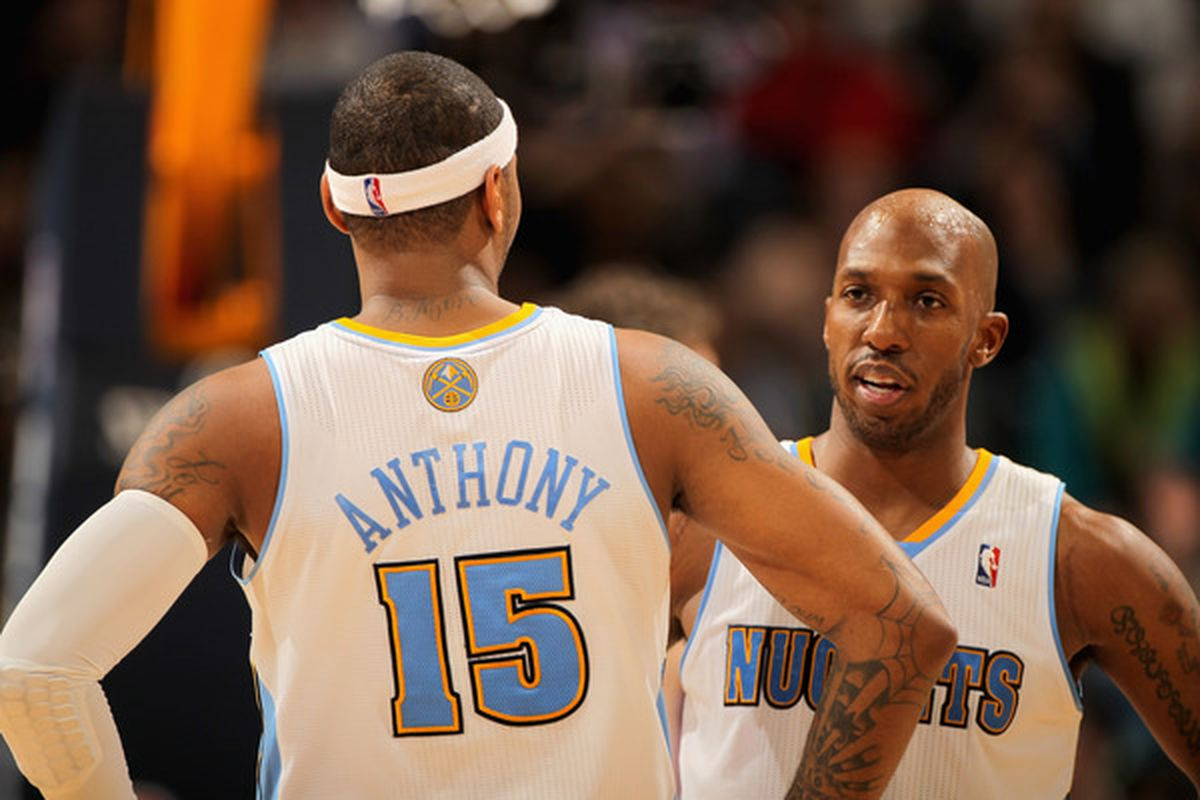 Binary stars - Carmelo Anthony and Chauncey Billups in their Nuggets heyday